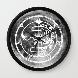 The Witches Moon Wall Clock