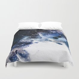 Between airplanes Duvet Cover