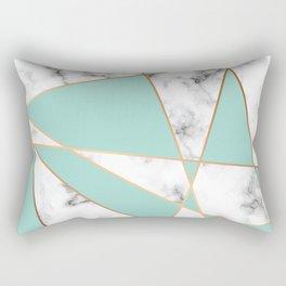 Marble Geometry 055 Rectangular Pillow
