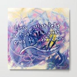 Michael Carini Inspirational Quotes Metal Print