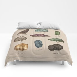 Gems and Minerals Comforters