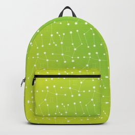Gemini Constellation Pattern Backpack