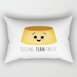 Feeling Flan-tastic Rectangular Pillow