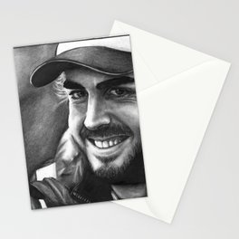 Fernando Alonso Stationery Cards