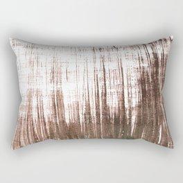 Brown abstract Rectangular Pillow