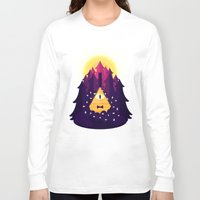 bill cipher Long Sleeve T-shirts featuring BILL by badOdds