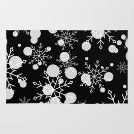 Give Me a Black & White Christmas - 5 Rug