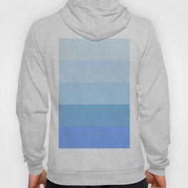 Blue Glass Pastel Stripe Hoody