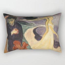 Separation by Edvard Munch Rectangular Pillow