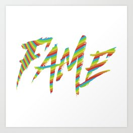 Fame Art Print