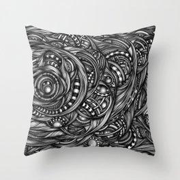 Bio_Stuff_6 Throw Pillow