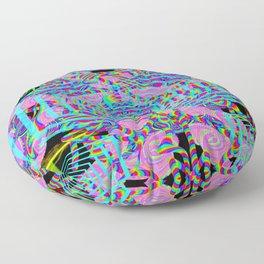 Bubblegum Tunnel Floor Pillow