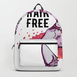 Hair Free Care Free - Sphynx Cat - Big Eyes Backpack