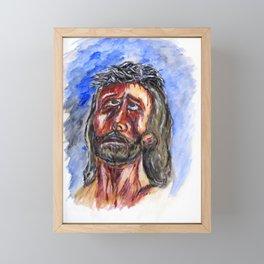Father Forgive Them Framed Mini Art Print