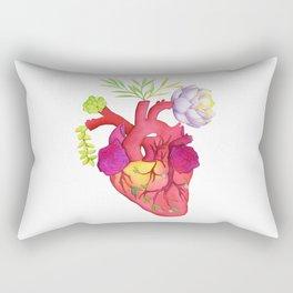Glitter, Glow, Bloom Rectangular Pillow