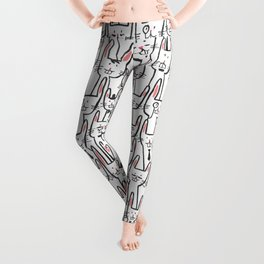 Bunny family Leggings