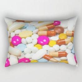 Pills (Color) Rectangular Pillow
