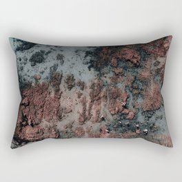 Walking on Mars Rectangular Pillow
