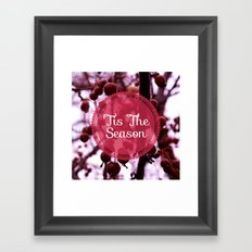 'Tis The Season Framed Art Print