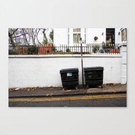 Surface Tension: 310 Renfrew Street Canvas Print