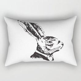 Mr. Rabbit Rectangular Pillow