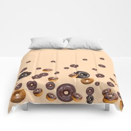 LOVE MY CHOCOLATE  DONUTS Comforters