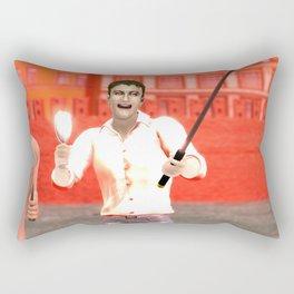SquaReD: Opposition Rectangular Pillow