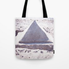 Sandy Triangle  Tote Bag