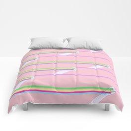 Feminist power pattern Comforters