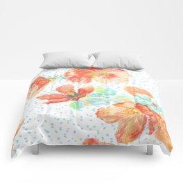 Desert Mallow floral pattern Comforters
