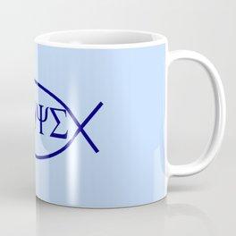 christogram 4 ichthys or ichthus Coffee Mug