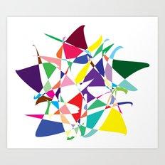 Cosmic Star Art Print