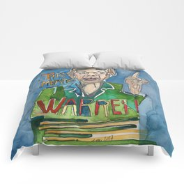 This Means WARREN Comforters