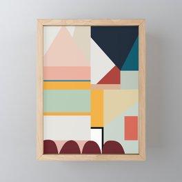 modern abstract II Framed Mini Art Print
