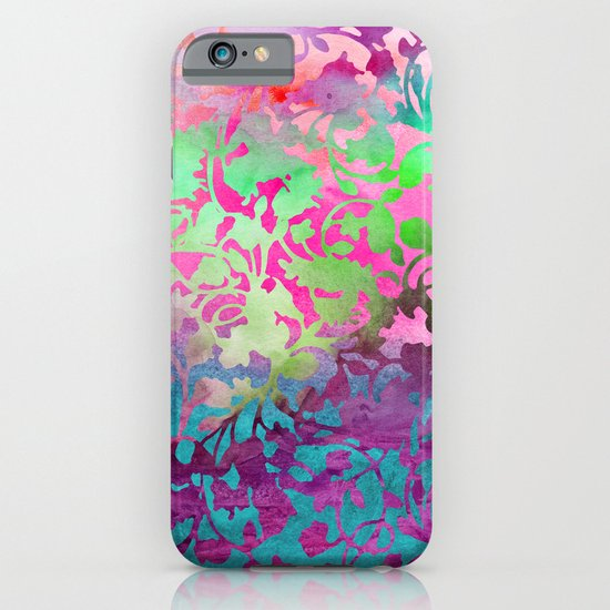 Earth_Watercolor by Jacqueline & Garima iPhone & iPod Case
