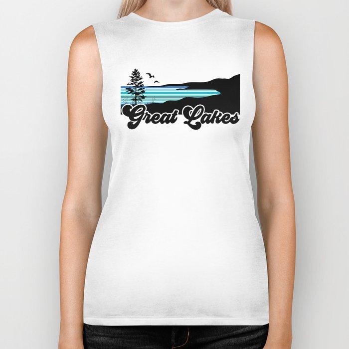 Great Lakes Coast Biker Tank