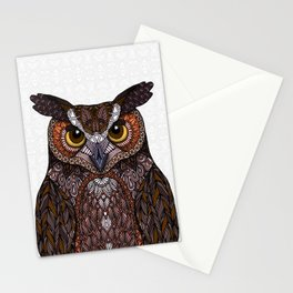 Great Horned Owl 2016 Stationery Cards