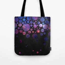 Space Bubbles Tote Bag