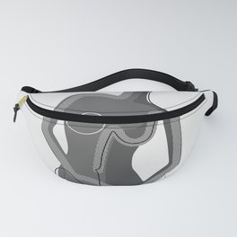 Abstract Nudity Fanny Pack