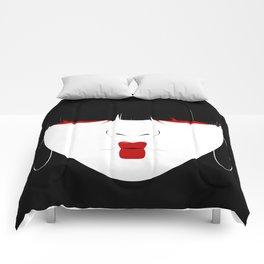 Modern Geisha #2 Comforters