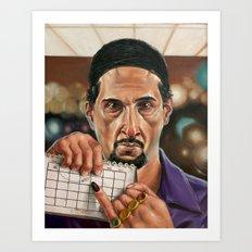 Jesus Quintana. Art Print