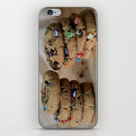 A Balanced Diet Is a Cookie In Each Hand iPhone & iPod Skin