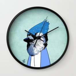Employee of the Month: Blue Wall Clock