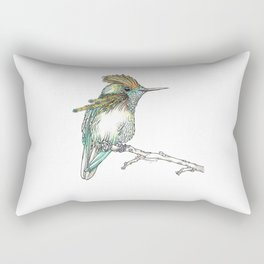 The Tufted Coquette Rectangular Pillow