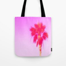 Pink Palm Dreams Tote Bag