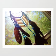 Dream Window Art Print