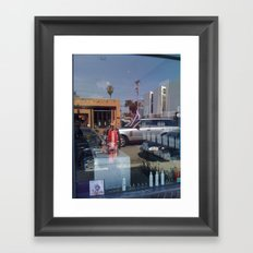 Groove Chocolate Framed Art Print