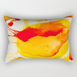 Orange Study Rectangular Pillow