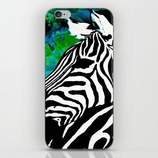 Zebras iPhone & iPod Skin