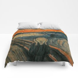 Classic Art - The Scream - Edvard Munch Comforters